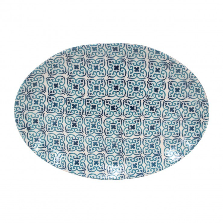 PIASTRELLA LARGE OVAL PLATTER