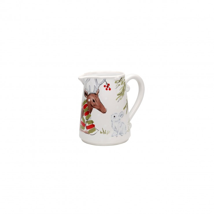 DEER FRIENDS PITCHER