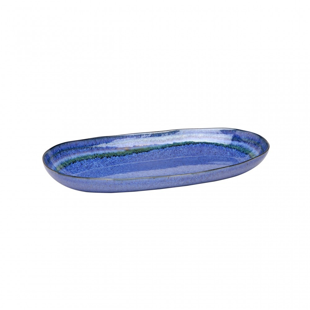 SAUSALITO MED. OVAL SERVING PLATTER