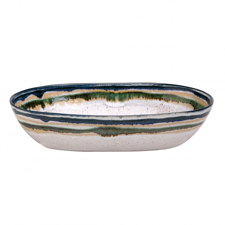 SAUSALITO MEDIUM OVAL SERVING BOWL