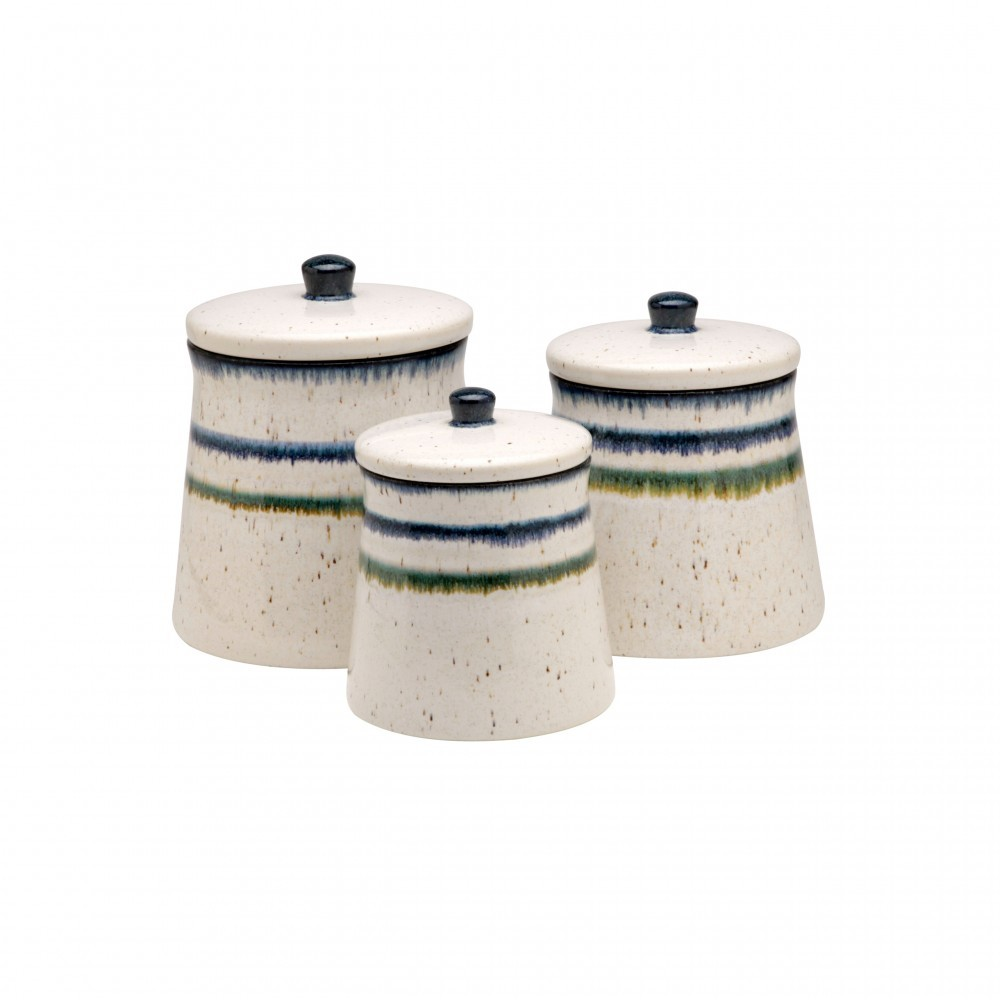 SAUSALITO SET/3 CANISTERS