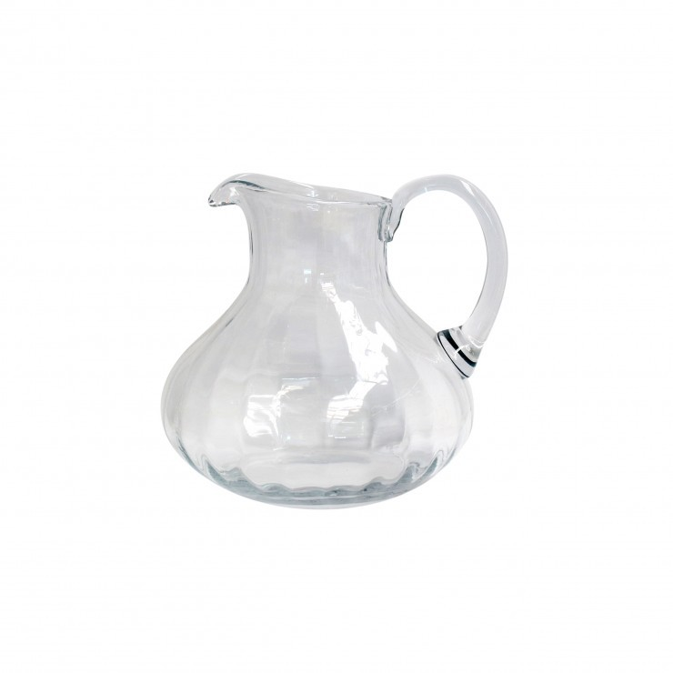 GLASSWARE PITCHER