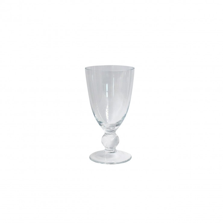 GLASSWARE WATER STEM