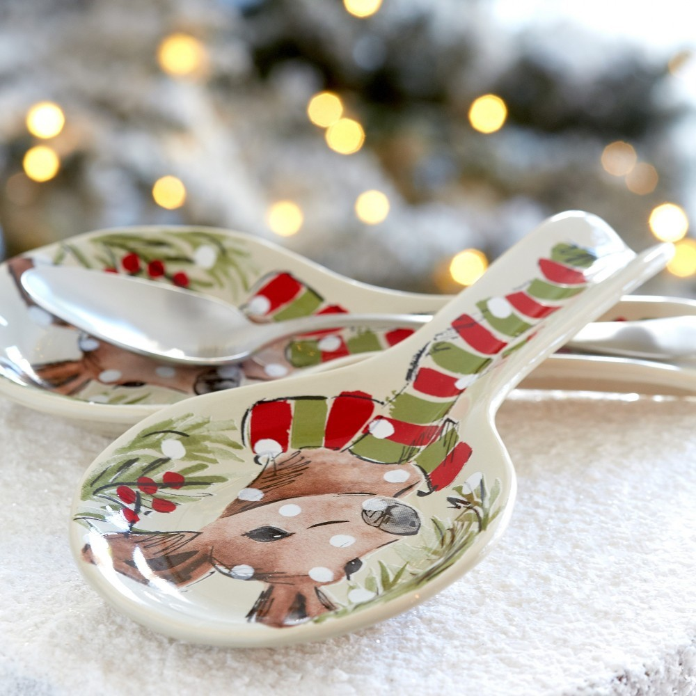 DEER FRIENDS SPOON REST