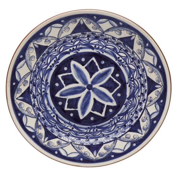 ALENTEJO TERRACOTA MEDIUM ROUND PLATTER