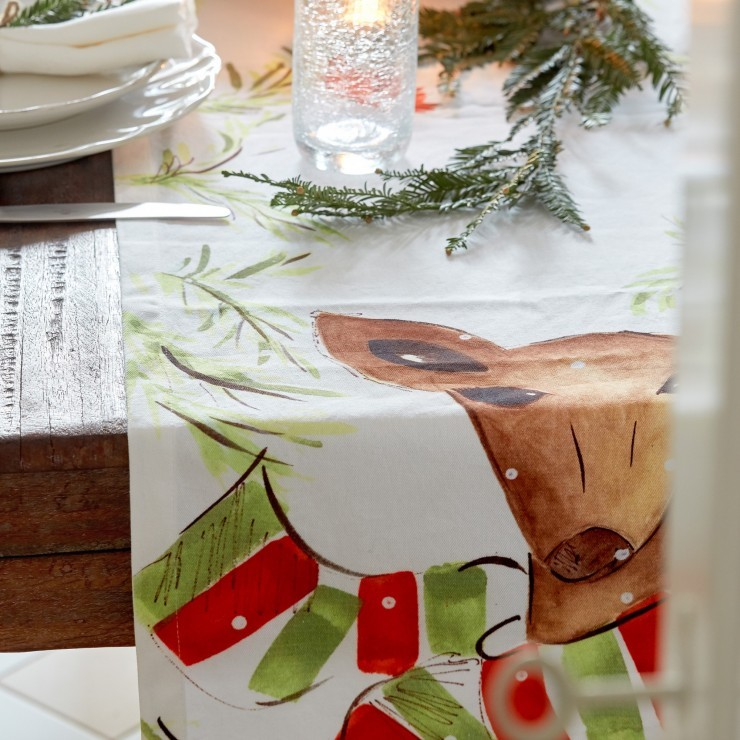 DEER FRIENDS DEER FRIENDS TABLE RUNNER