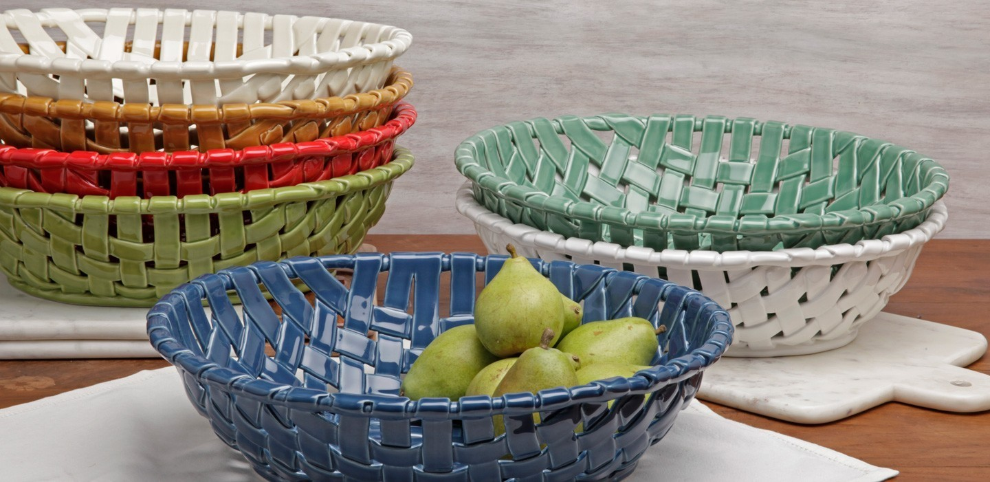 Gifts 7 - ceramic baskets