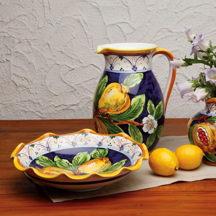 ITALIAN COLLECTION LARGE PITCHER