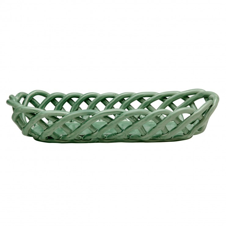 CERAMIC BASKETS BAGUETTE BASKET