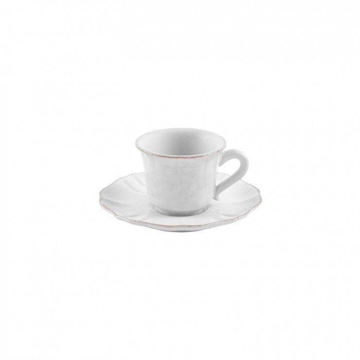 COFFEE CUP AND SAUCER 3 OZ. IMPRESSIONS