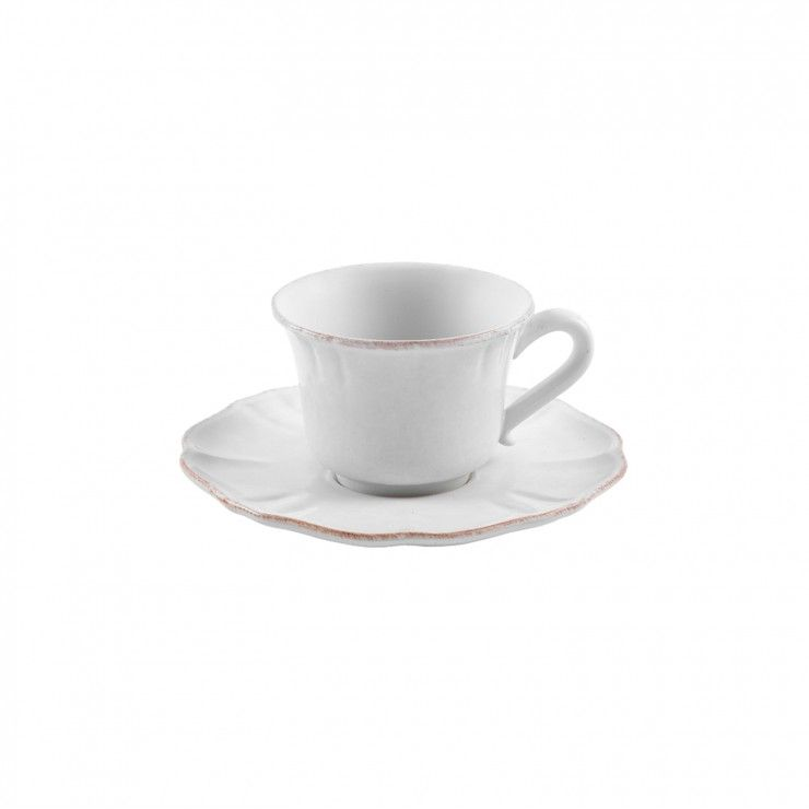 TEA CUP AND SAUCER 8 OZ. IMPRESSIONS