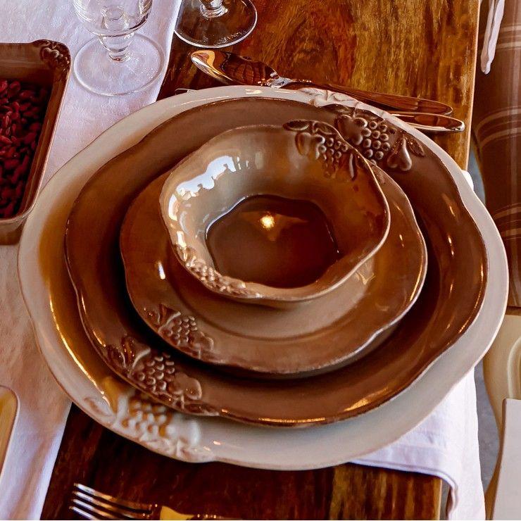 CHARGER PLATE/PLATTER 34 MADEIRA HARVEST