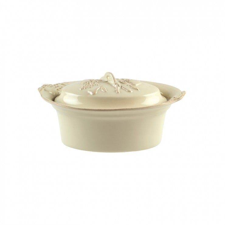 COV. OVAL CASSEROLE 2.13 L MADEIRA HARVEST
