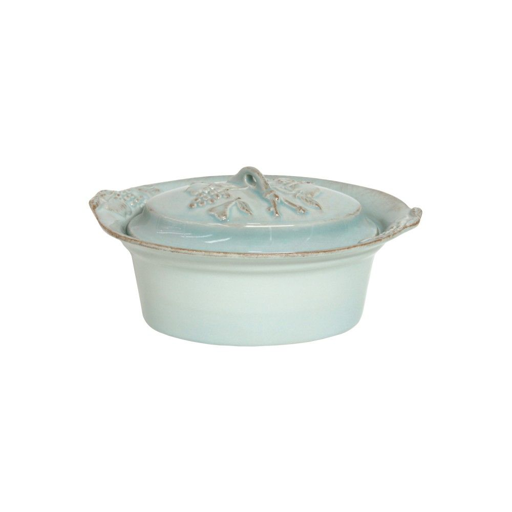 MADEIRA HARVEST OVAL COVERED CASSEROLE