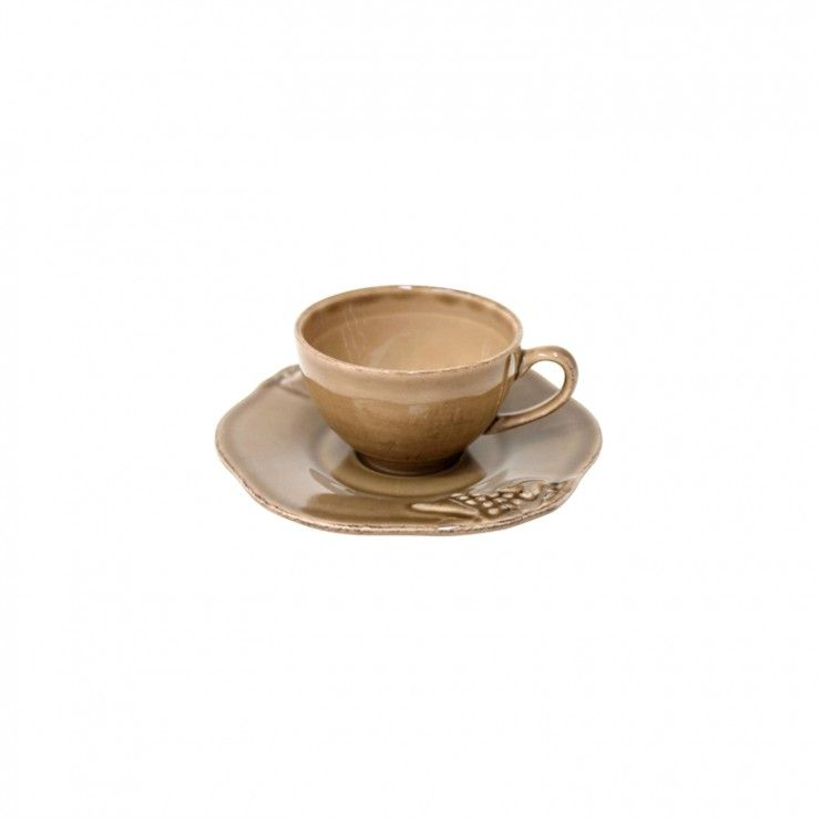 COFFEE CUP AND SAUCER 3 OZ. MADEIRA HARVEST