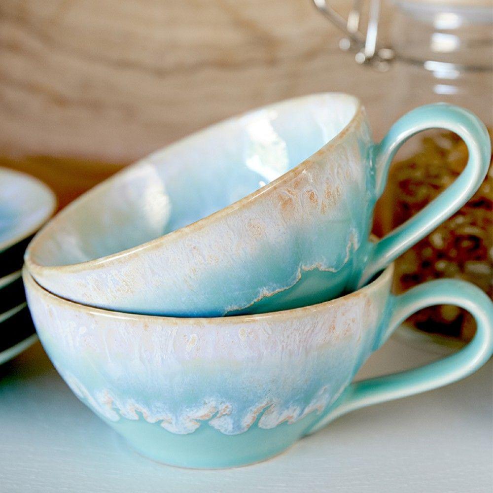 TAORMINA TEA CUP & SAUCER
