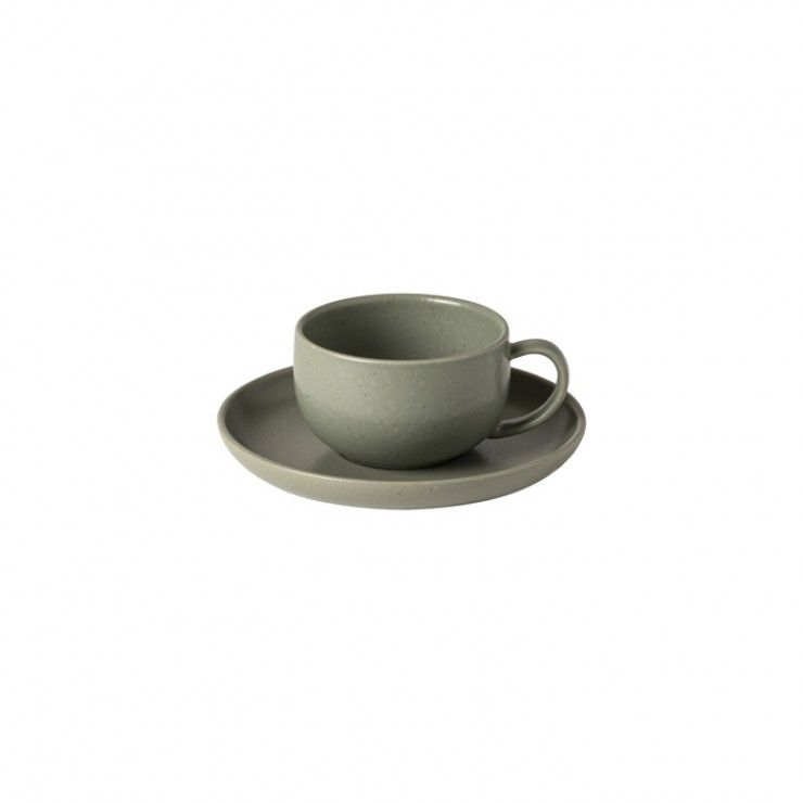TEA CUP AND SAUCER 7 OZ. PACIFICA