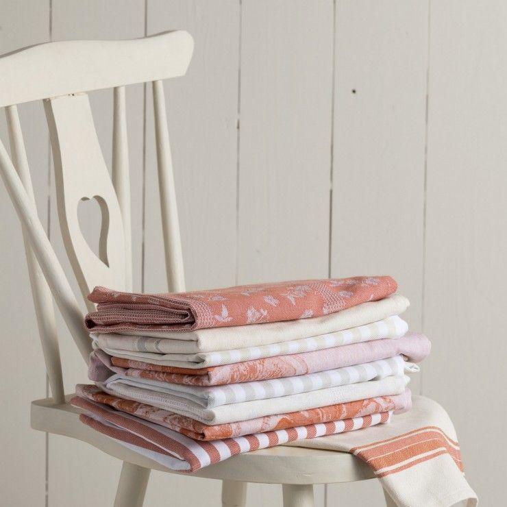 SET 2 KITCHEN TOWELS FRUITS