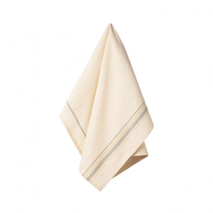 SET 2 KITCHEN TOWELS FRENCH STRIPES