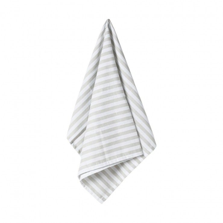 SET 2 KITCHEN TOWELS STRIPES
