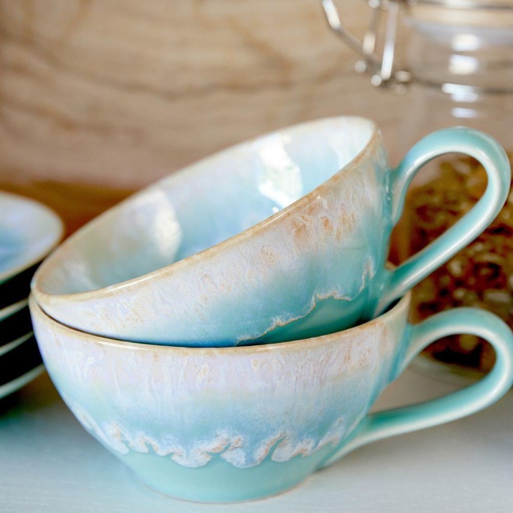 TEA CUP AND SAUCER 0.2 L TAORMINA