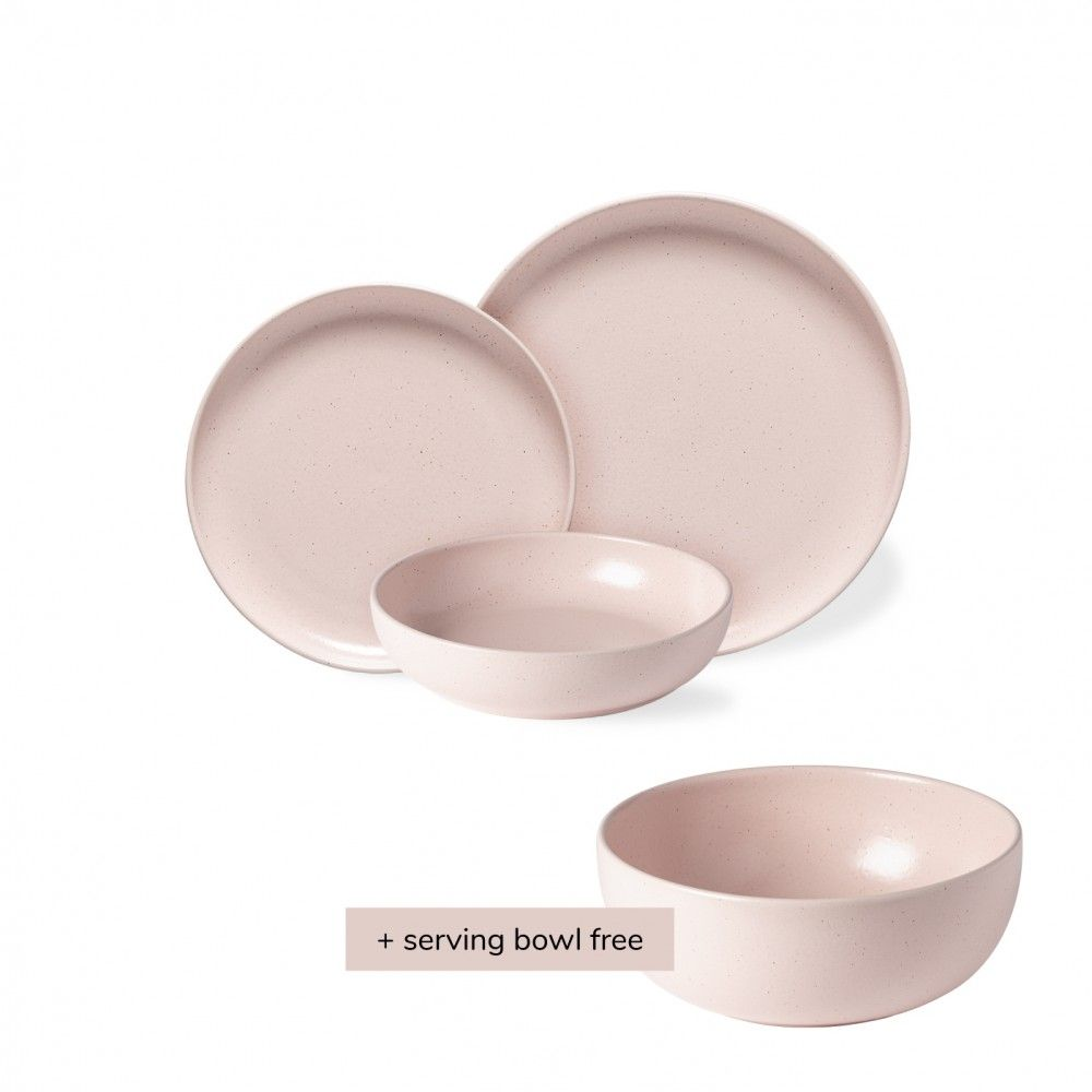 18 PIECE PLACE SETTING PACIFICA